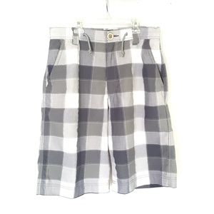 Other - Gray Plaid Shorts